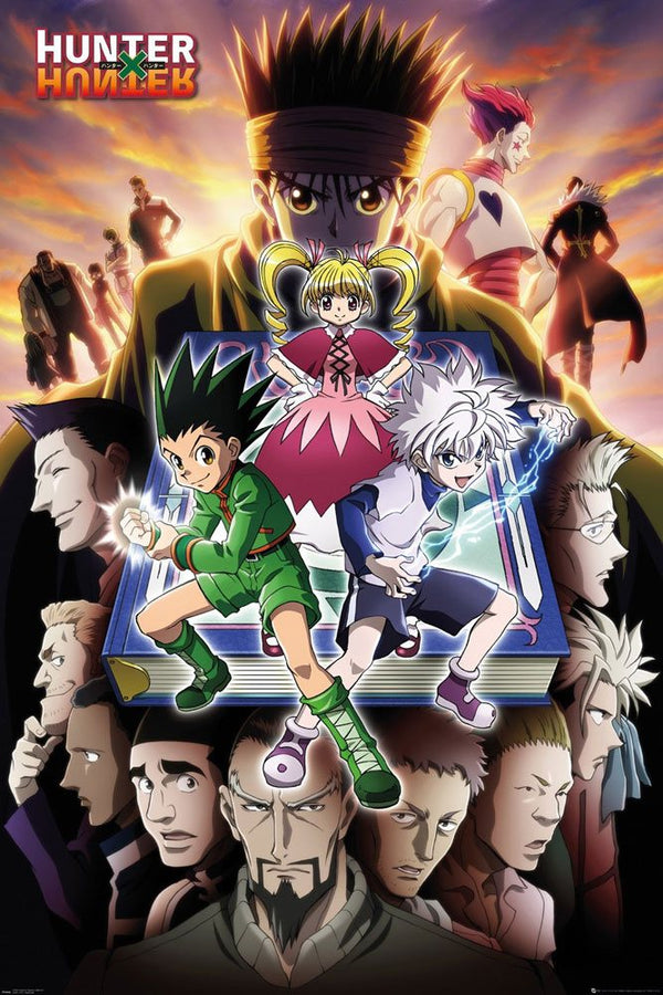 Hunter x Hunter - Key Art - Stor Plakat