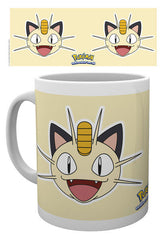 Pokemon - Meowth portræt Krus - 300 ml