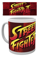 Street Fighter - Street Fighter II logo Krus - 300 ml