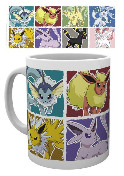 Pokemon - Eevee Evolution Krus - 300 ml