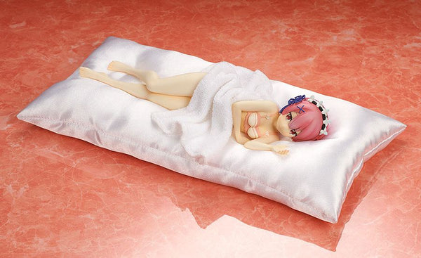 Re:ZERO Starting Life in Another World - Ram: Sleep Sharing Pink Lingerie ver. - 1/7 PVC figur