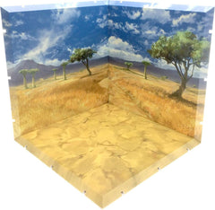 Dioramansion 150 - Savanna - Figur Display Baggrund
