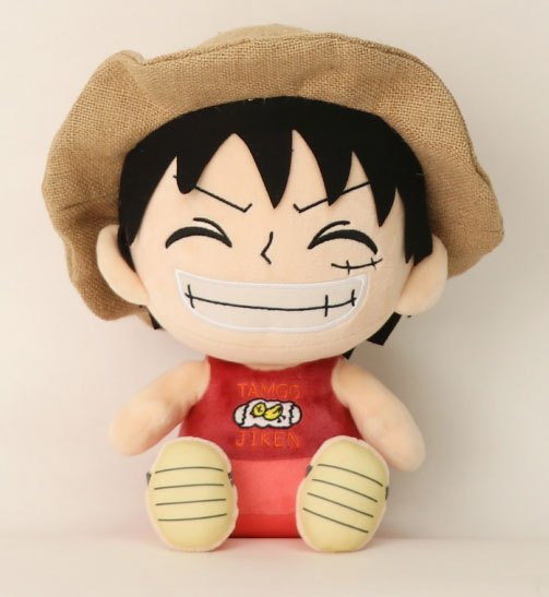 One Piece - Luffy: grinende ver. - Bamse
