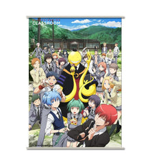 Assassination Classroom - Koro & Students - wallscroll