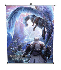 Monster Hunter - Iceborn - wallscroll
