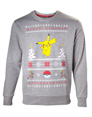 Pokemon - Sweater - Pikachu jul
