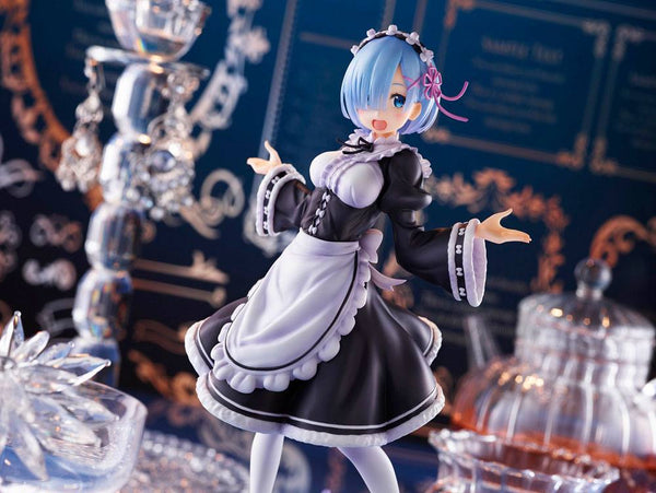 Re:Zero Starting Life in Another World – Rem: Winter maid Ver. - PVC figur (Forudbestilling)