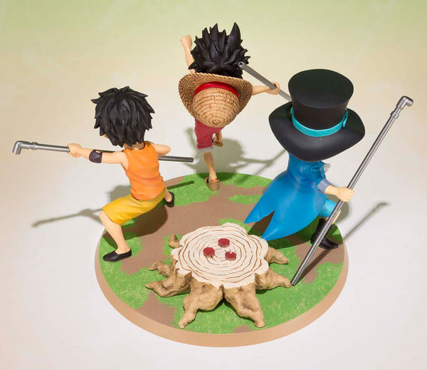 One Piece - Monkey D. Luffy & Portgas D. Ace & Sabo - PVC figur