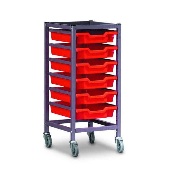 Trolley Set (With 6 x F1 Trays) 1025S