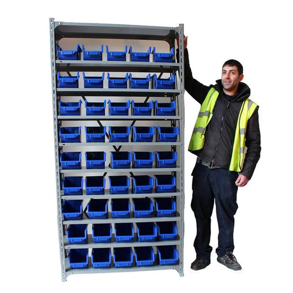 shelf unit 45 bins