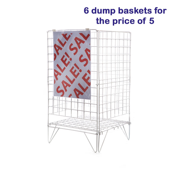 Dump Basket 6 for 5