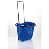 plastic shopping basket blue