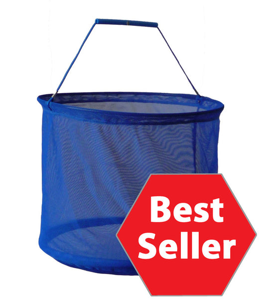 "Round Mesh Shopping Basket (14""  Diam)"