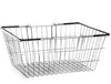 Wire Shopping Baskets Black Handles (21L)