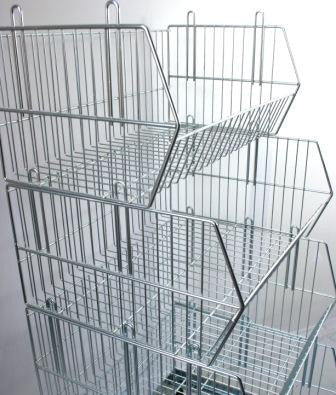 Stacking Display Basket 980x400x250mm
