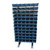 Louvre Panel Rack + 72 Bins (T302)