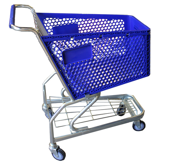 Individual Wire Shopping Trolley with Baby Seat 100L (B36/100)