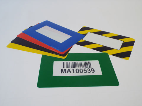 Self Adhesive Floor/Wall Warehouse Sign Frame (DL Size)