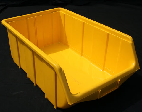 Yellow Parts Bins Ref 115/FB5 (333x505x187mm)