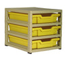 GratStack (3 x F1 Trays) GS661 (Castors Available)