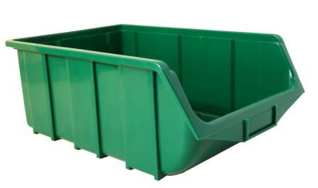 Plastic Parts Bin ECO 115 Green