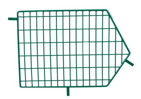 Green Wire Storage Basket Divider