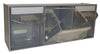 Van Storage Tilt Bin 3 Grey & Locking Bar