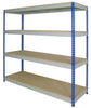 Med Duty Rivet Racking 1830x1830x610mm (300kg/level)