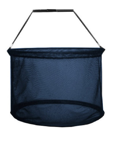 "Round Mesh Shopping Basket (16"" Diam)"