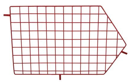Red Wire Storage Basket Divider