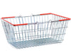 Wire Shopping Baskets Red Handles (21L)