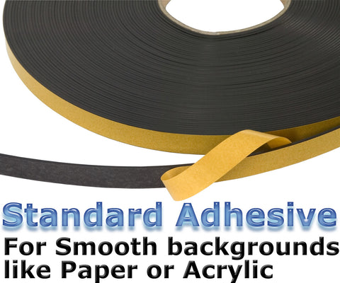 Magnetic Standard Self Adhesive Tape (12.7mm x 10m)