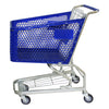 Blue 100L Shopping Trolley