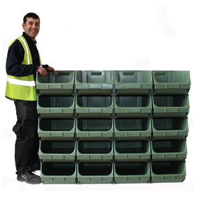 Interlocking Union Bins