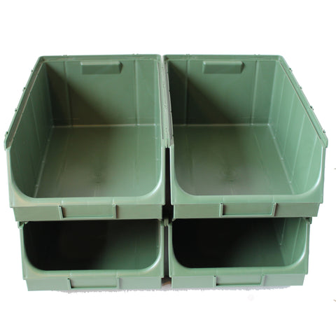 Pack of 4 x Union Bin F (380x610x250mm)
