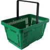 Offer! Single Handle Shopping Basket Green (22L)