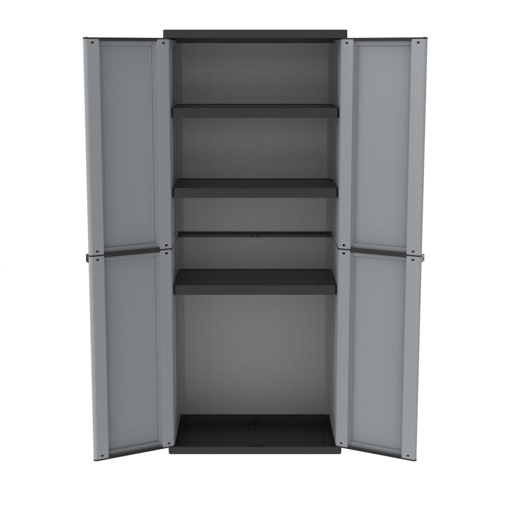 grey black plastic cupboard filplastic uk ltd