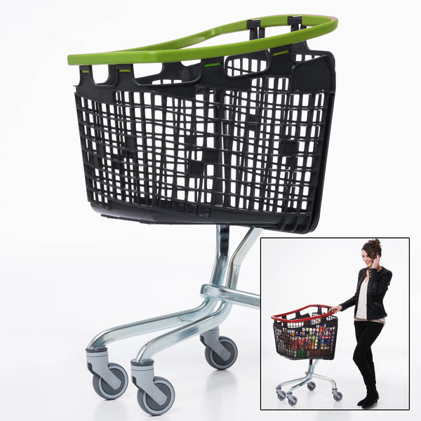 Araven Loop Trolley Lime Green (100L)