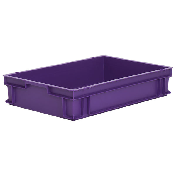 10 x Euro Stacking Containers (600x400x120mm) M200A