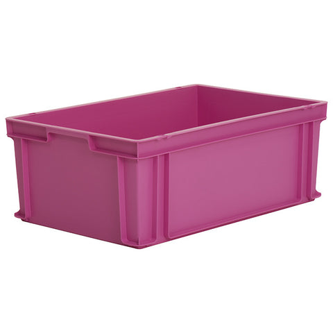 10 x Euro Stacking Containers (600x400x220mm) M201A