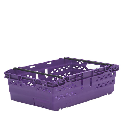 10 x Bale Arm Crate Containers (600x400x190mm) M725