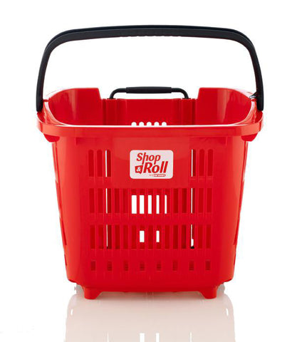 Plastic Shopping Trolley Basket Blue