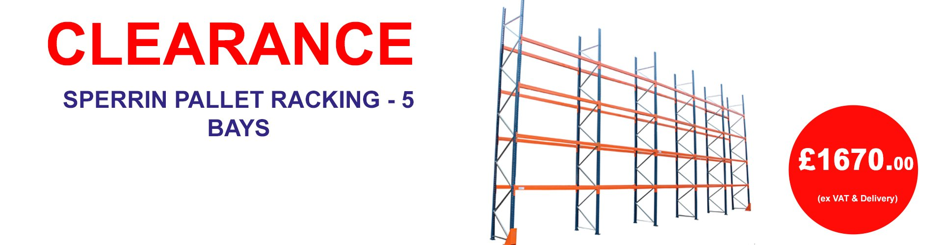 Special Offer: Sperrin Pallet Racking
