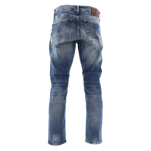 G-STAR MENS 3301 STRAIGHT TAPERED JEANS 51003-C052-A802