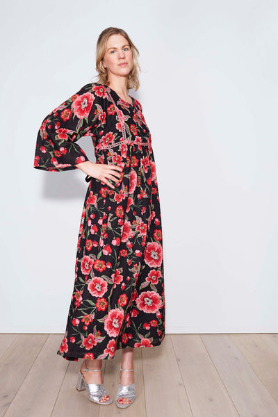 Mimi Flower Print Dress