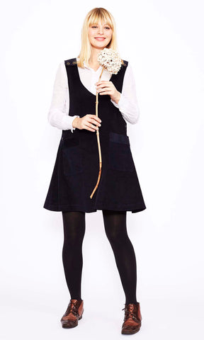 Needlecord Overall Dress