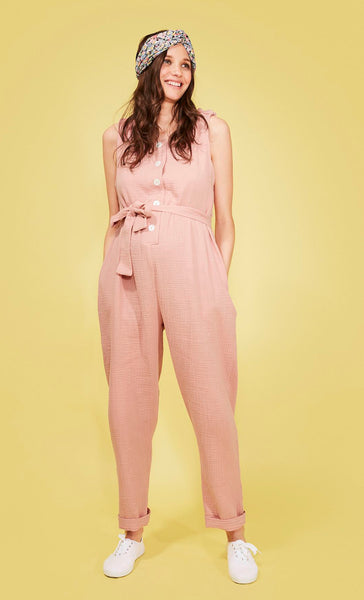 Martha Jumpsuit Rose