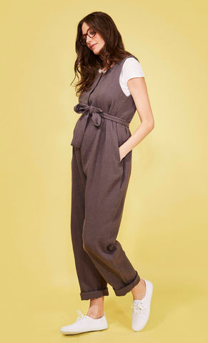 Martha Jumpsuit Charcoal