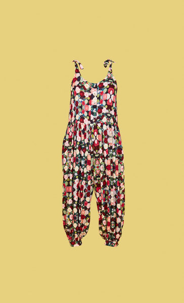 Molly Jumpsuit Floral