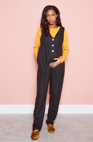 Mary Jumpsuit in Black